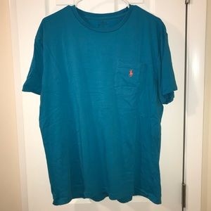 Bright Teal Ralph Lauren T-Shirt!